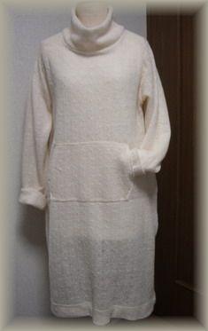 縄編みのオフタートル