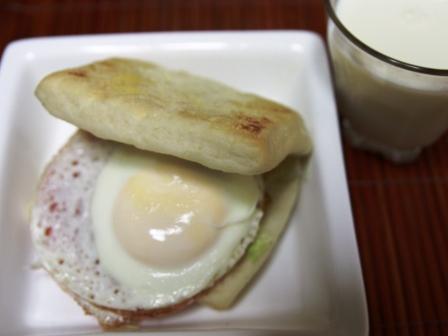 090907 朝ご飯