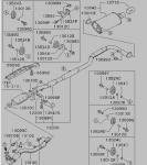 CN9Aエキゾースト品番図