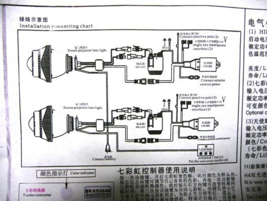 プロジェクター配線取り付け (2)