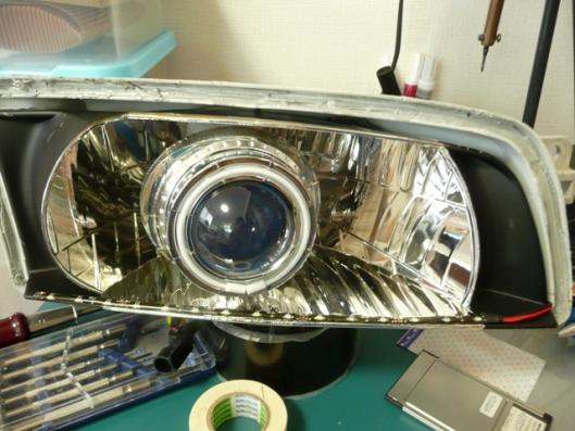 今風LEDウインカー製作 (1)