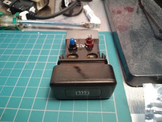 熱線スイッチイルミLED化 (1)