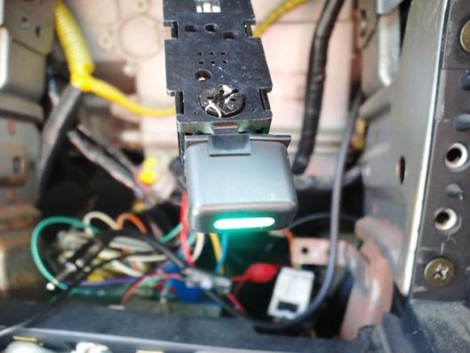 外気導入スイッチ配線確認 (2)