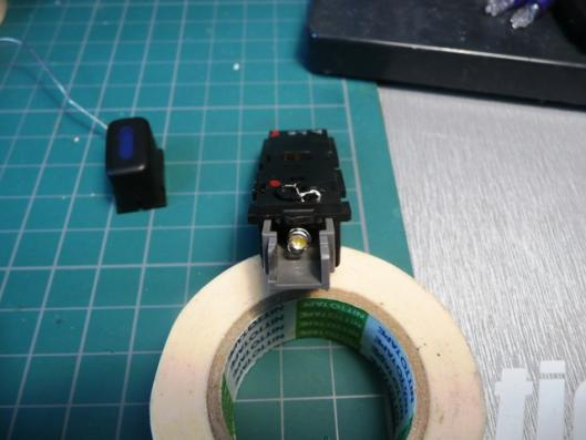 FN15エアコンスイッチイルミ用LED製作 (5)