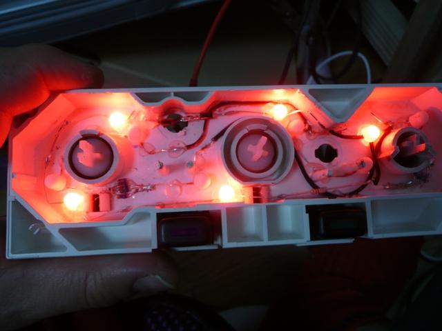 帽子型赤色LED (3)