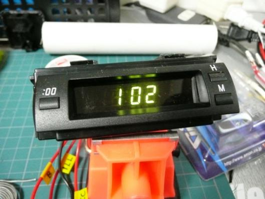 20プリウス車載時計作動確認 (2)