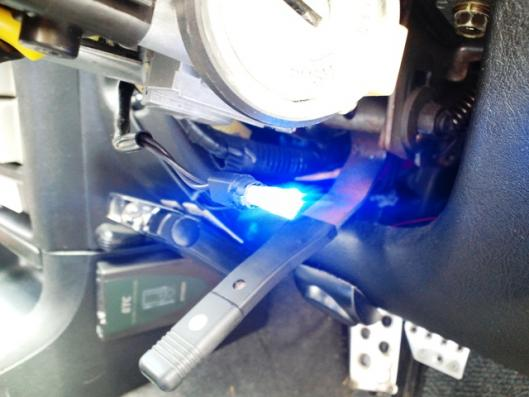 角型青色LED2発仕様