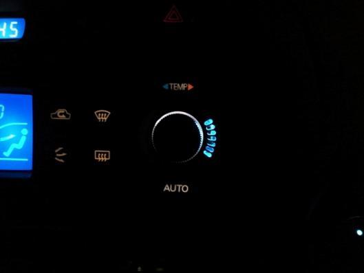 CN9A  エアコンコントロールスイッチ 夜 ②