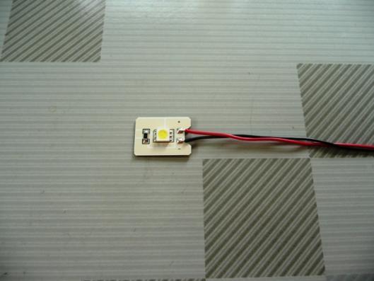 LED STYLE3 LED自作再入門 付録LED (エーモン フラットLED)