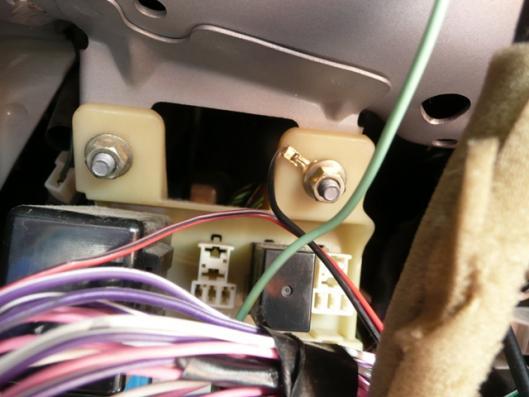 自動車用白色汎用LED アース