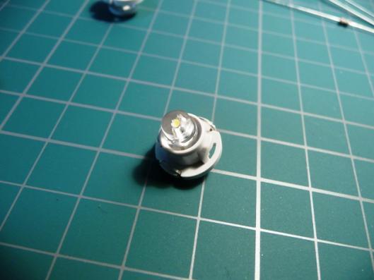T4.7白色LED(自作)