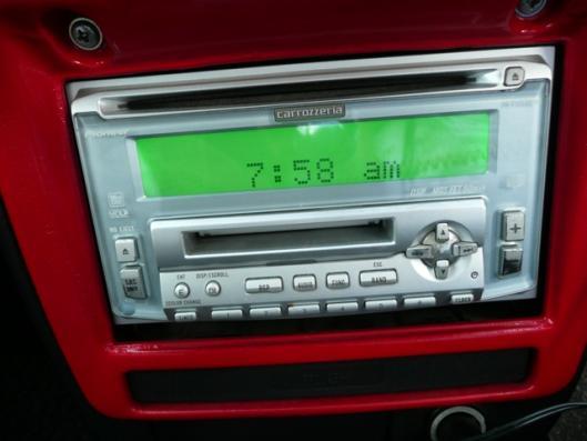 carrozzeria MD、CDカーコンポ
