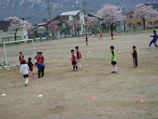サッカー練習日