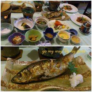 上山田温泉夕食