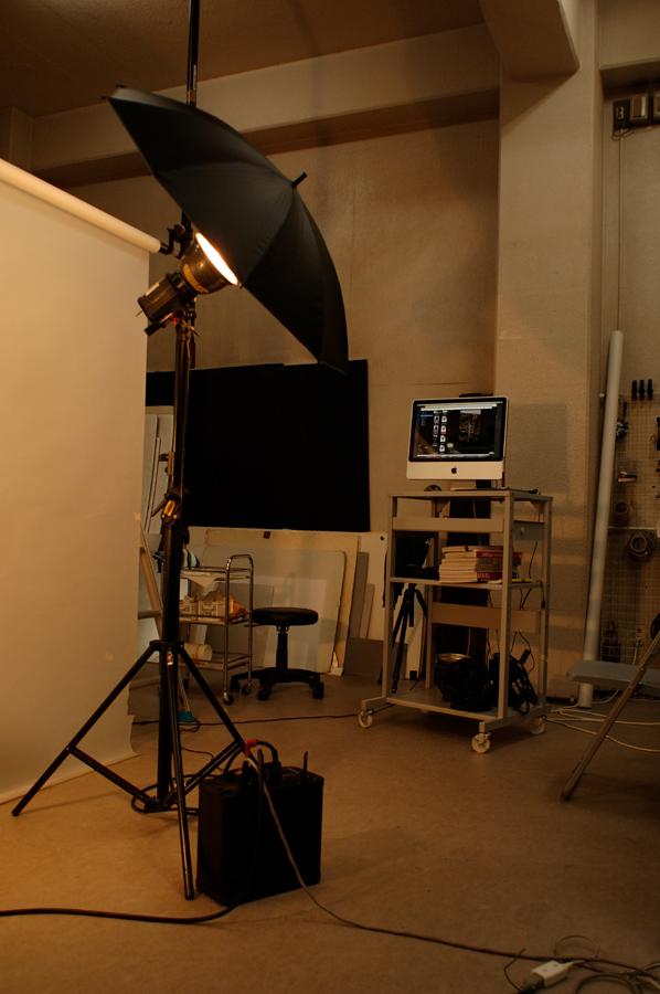 スタジオ用照明機材