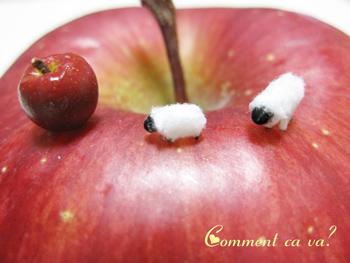 りんご羊1