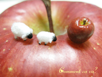 りんご羊3