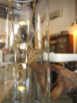 agave 天然石 オリジナルアクセサリー