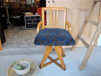 ドクターチェア レトロ 回転椅子