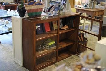 木製キャビネット 本棚 食器棚