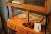 古民家スタイル ナチュラルインテリア 水屋タンス 食器棚