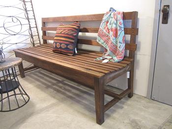 木味ナチュラルのベンチ