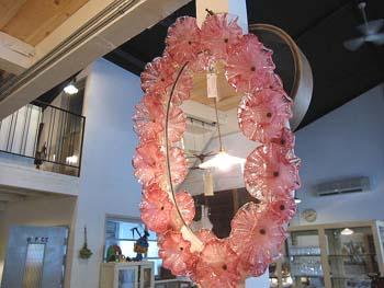 花カガラス・素敵な鏡