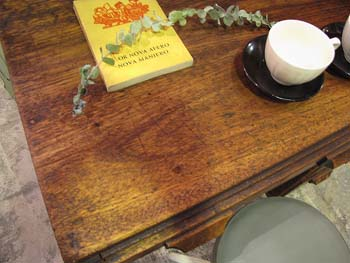 木味ナチュラル 古い片袖デスク 勉強机 作業台