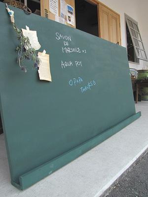 カフェさん向け。大きな黒板。古道具付き