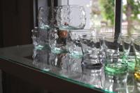 涼しくなるガラス雑貨