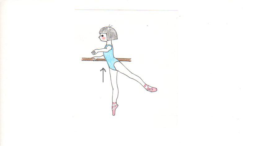 バレエのタンデュ