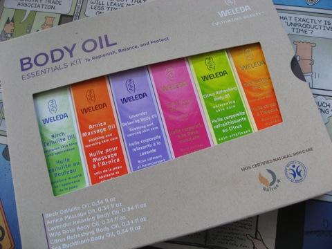 weleda oil set