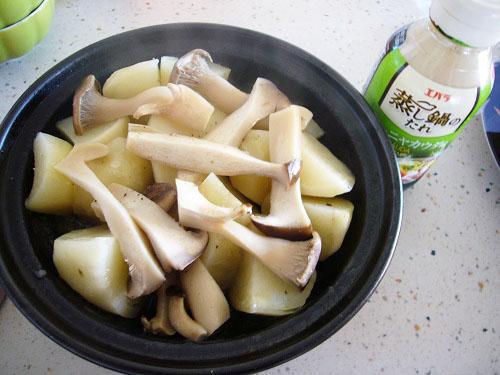 タジン鍋蒸し野菜(バーニャカウダソース)