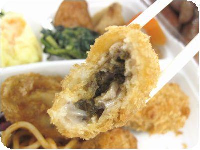 牡蠣フライ弁当