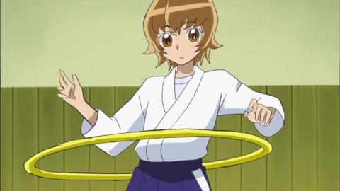 袴とフラフープのカップリングに萌えた