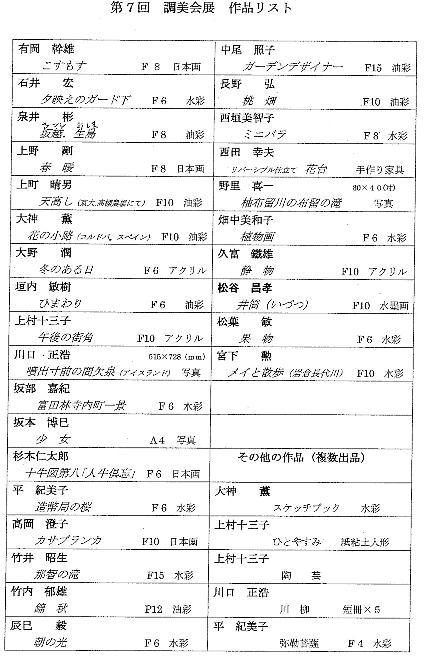 作品リスト