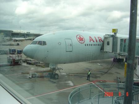 エアカナダ飛行機