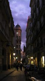 旧市街の路地裏(変換後)
