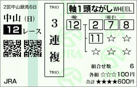 2010・0314中山12R