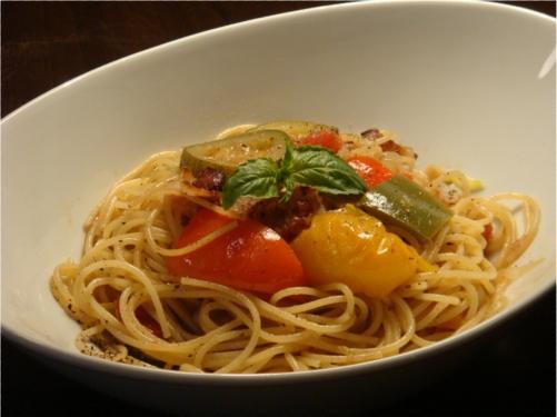 Ratatouill Spaghetti Web