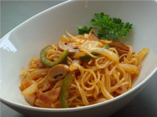 Spaghetti Napolitan Web