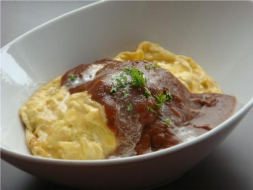 Demi Omlet Rice S