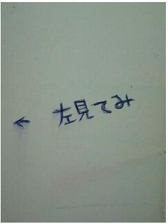 トイレの落書き 千鳥が淵3