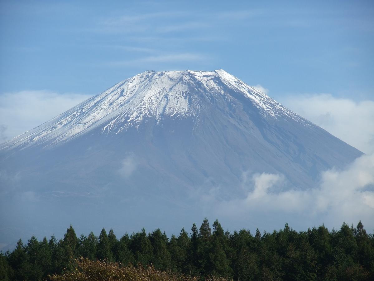 朝霧高原11/08富士山
