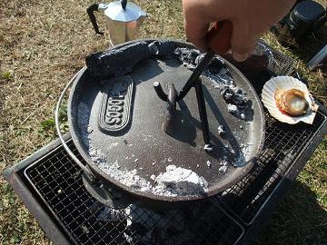 キャンプ場でダッチ・オーブン 3
