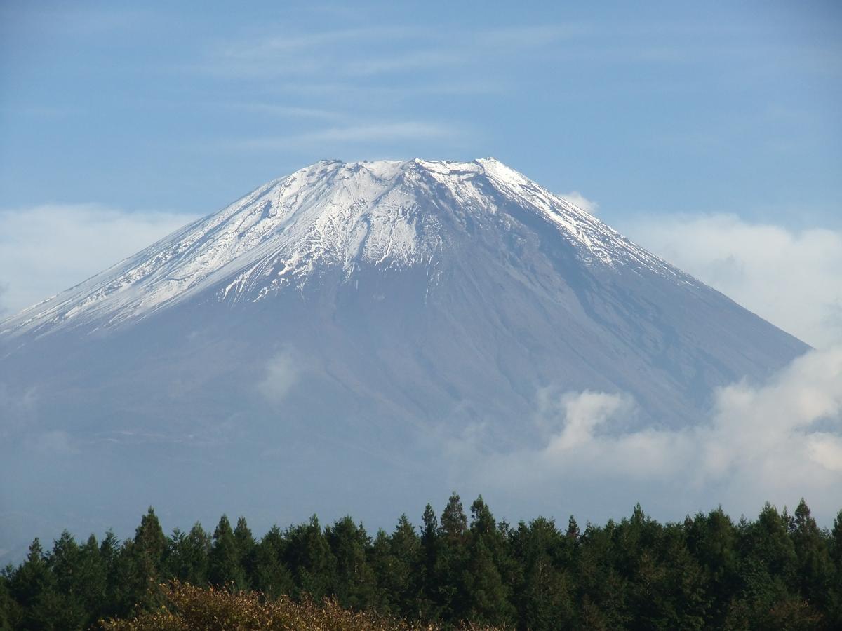 まともな富士山拡大