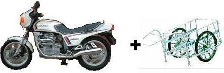 CX-EURO+リヤカー