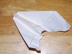 破壊された飛行機