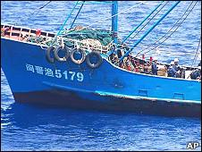 尖閣諸島支那漁船