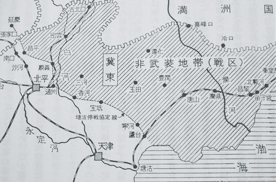 通州事件地図